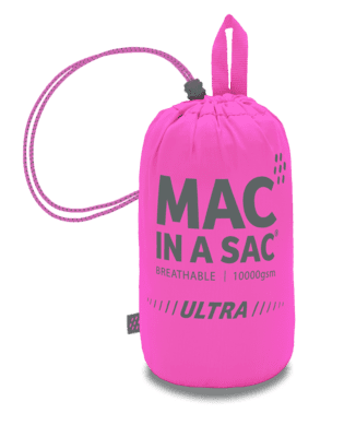 Mac in a Sac pink-grå